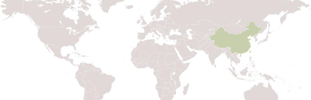 map-china