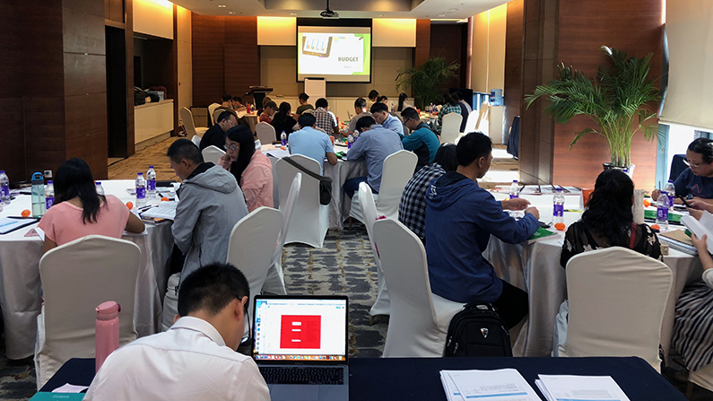 Support raising training in China equips national workers to fund their ministries